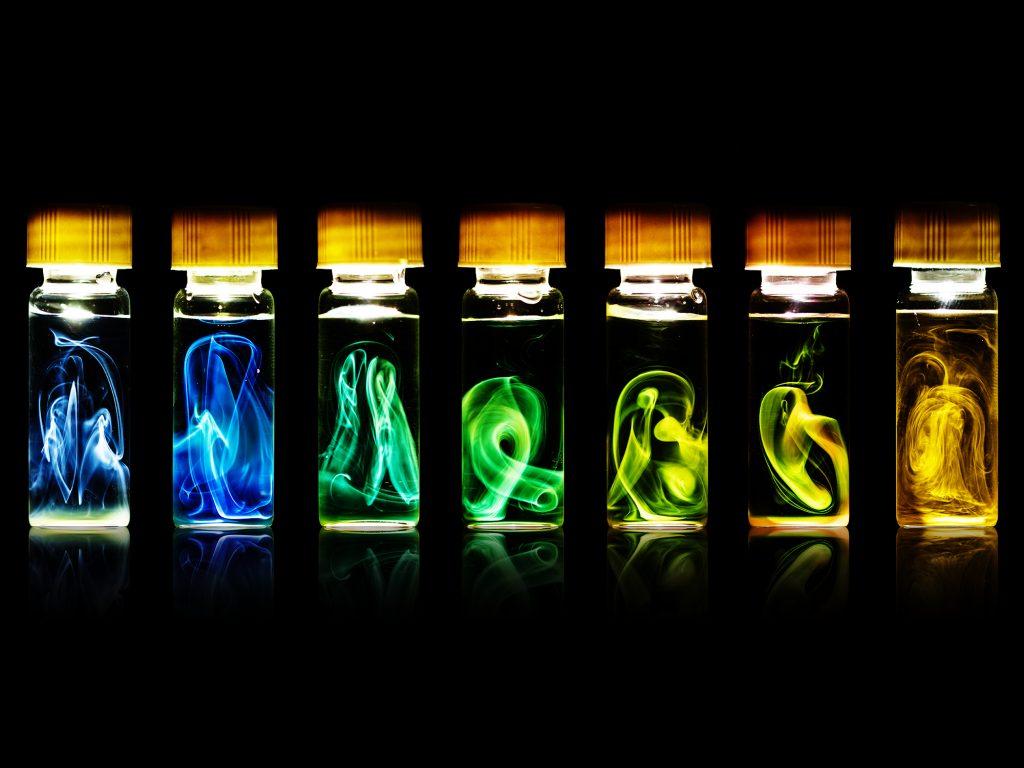 Le bal coloré des nanolanternes