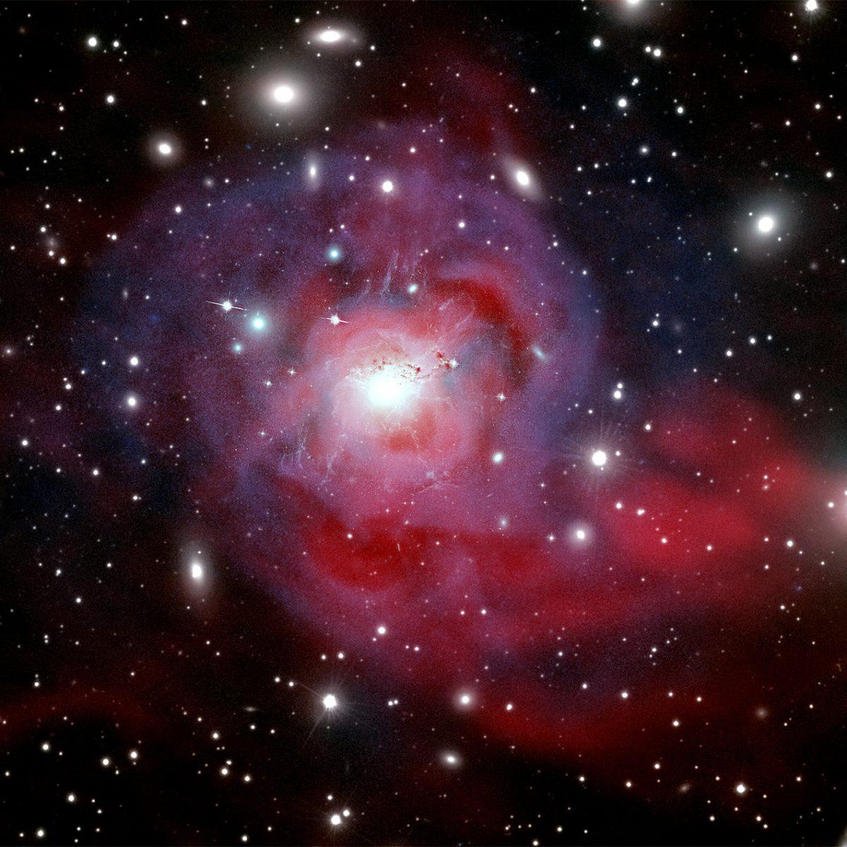 Flamboyante galaxie